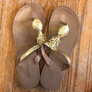 Lilly Pulitzer for target pineapple sandals
